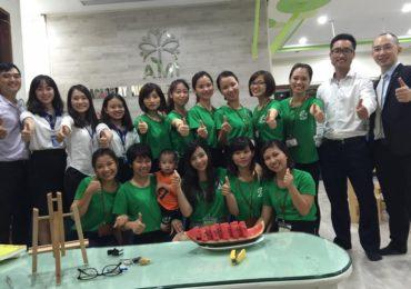 OTS Việt Nam hợp tác cùng mầm non AMI (23/08/2016)