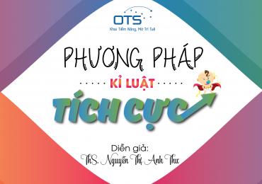"""OTS Việt Nam với chủ đề """"Phương pháp kỷ luật tích cực"""" tại Phủ Lý, Hà Nam"""